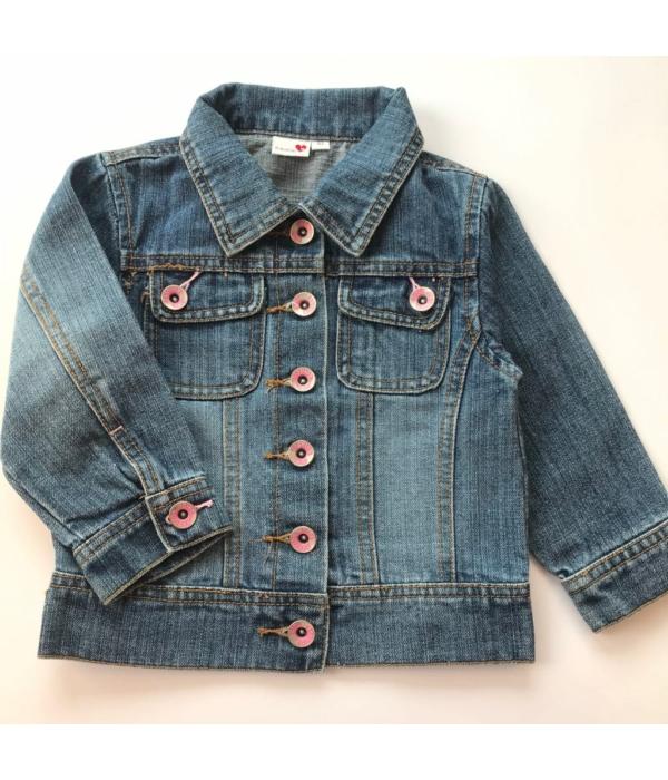 Prénatai kislány farmer kabát (92)