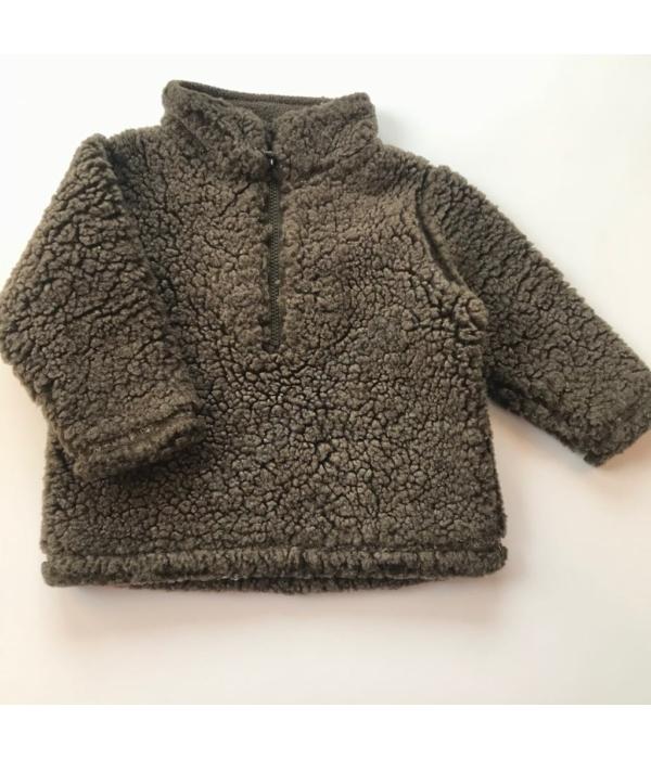 John Lewis kisfiú pulóver (68-74)