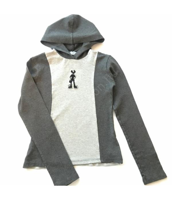 Szürke kislány pulóver (128)