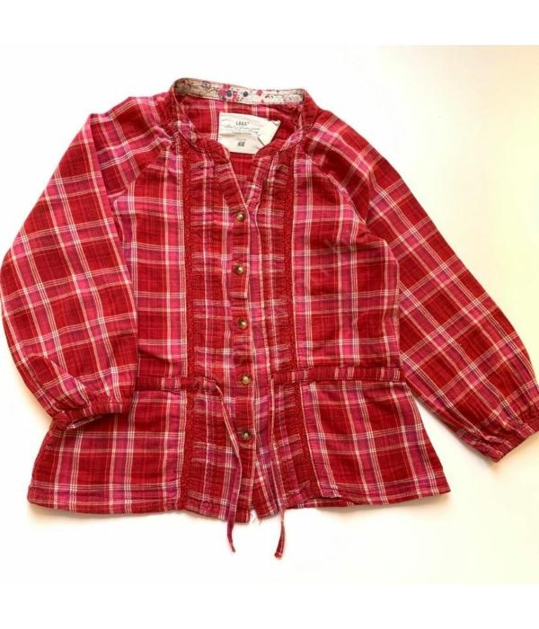 H&M kislány blúz (92)