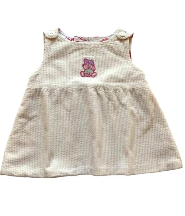 Kantáros kislány ruha (62-68)