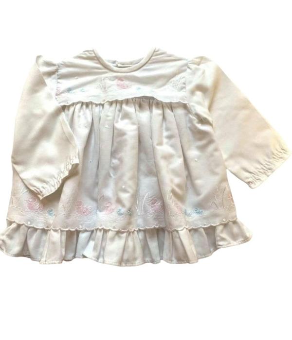 Fehér kislány ruha (62)