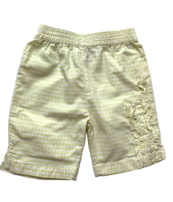 Halványzöld kockás kislány nadrág (62-68)