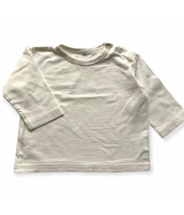 Bézs kisfiú pulóver (68)