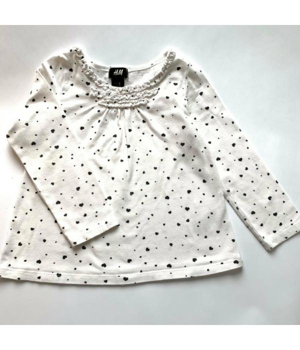 H&M kislány pulóver (98-104)