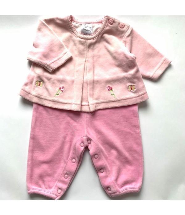 Rózsaszín kislány rugdalózó (56)