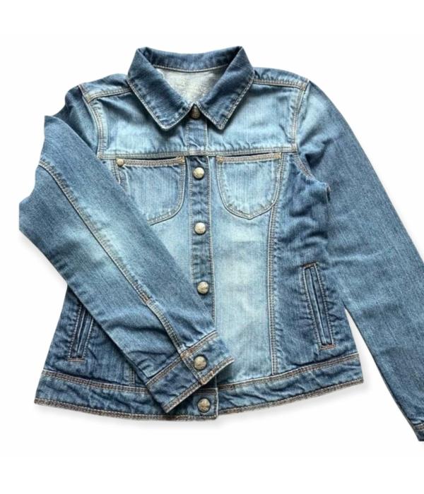Tex Jeans kislány farmer kabát (122-128)