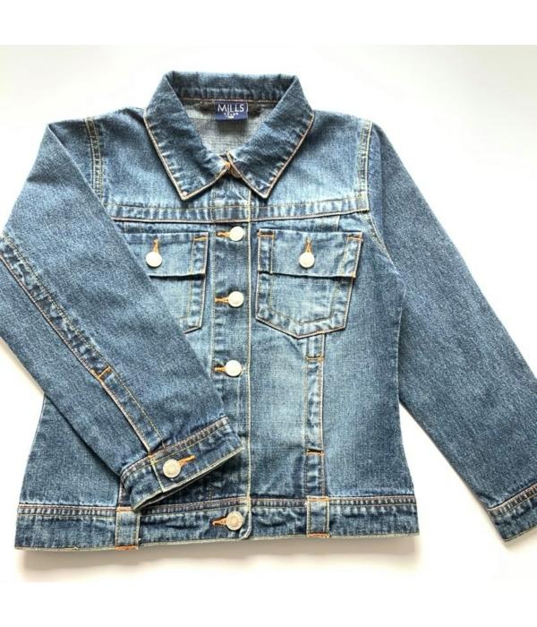 Mills teens kislány farmer kabát (128)