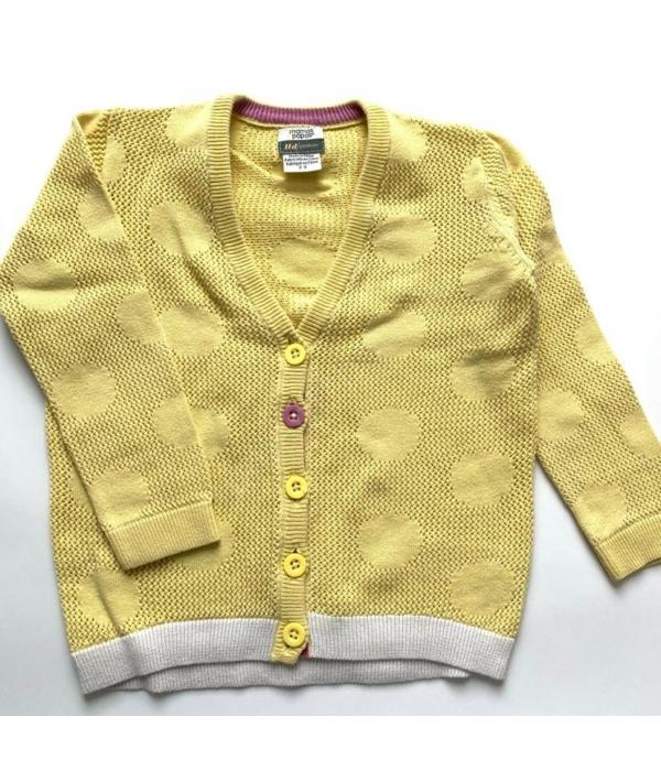 Mamas&Papas kislány pulóver (92-98)