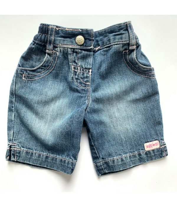 Marks&Spencer kislány farmer rövid nadrág (56)