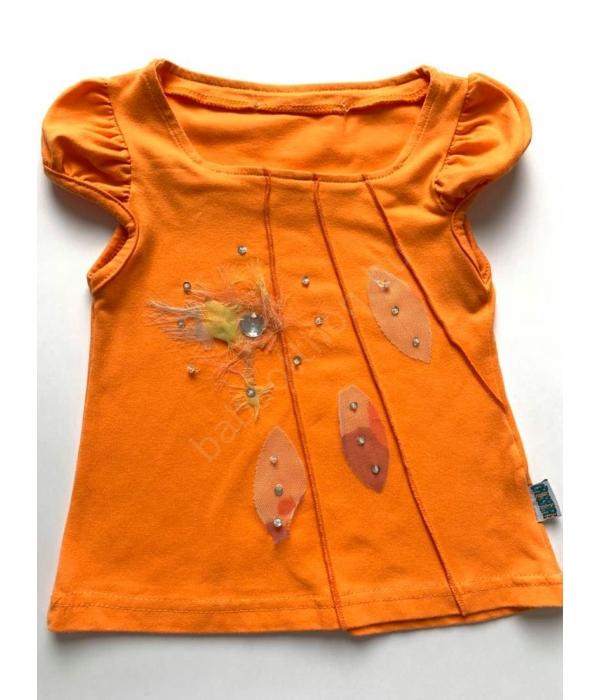Narancssárga kislány póló (92)