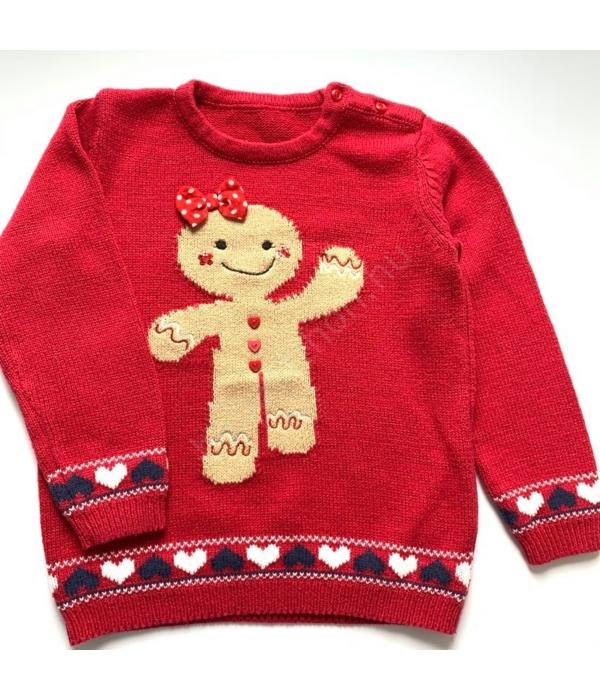 Matalan kislány pulóver (104-110)