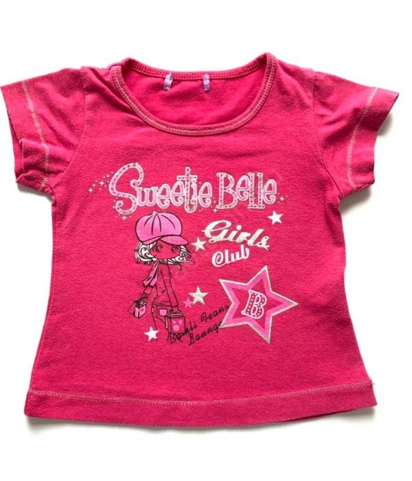 Pink kislány póló (92)