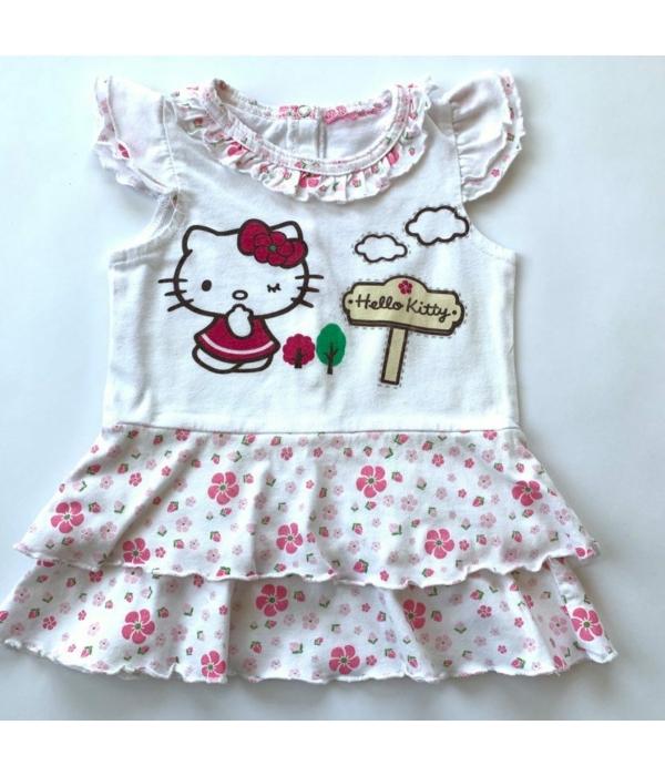 Hello Kitty kislány ruha (62-68)