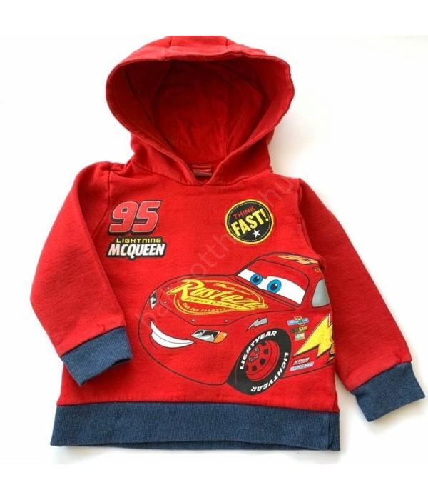 Cars kisfiú pulóver (92-98)