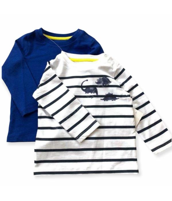 F&F kisfiú pulóver szett (74)